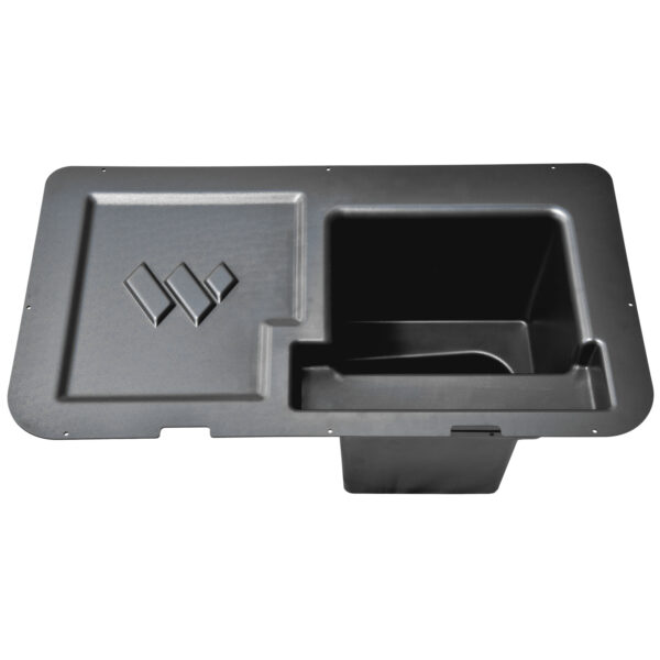 BMW i3 trunk extension top view empty and not installed